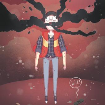 Will Byers. Un projet de Illustration, Télévision, Esquisse , Dessin et Illustration numérique de Rabbit's Hollow - 29.01.2020