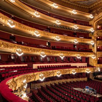 Gran Teatre del Liceu. Un progetto di Fotografia , e Architettura d'interni di Yanina Mazzei - 10.01.2018