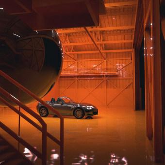 Mazda Mx-5 Dream. Un proyecto de Diseño, 3D, Diseño de automoción, Diseño industrial, Diseño de interiores, Creatividad, Modelado 3D, Concept Art, Diseño 3D y Composición fotográfica de Àlex Casabò - 14.04.2020
