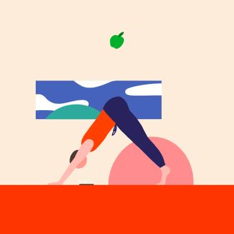Quarantine Loops. Un projet de Illustration, Motion Design, Animation, Design graphique, Animation 2D , et Humour graphique de Clim Studio - 14.04.2020