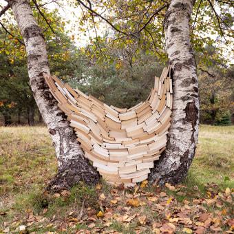 Escrito en las hojas. A Photograph, Fine Art, L, scape Architecture, Sculpture, and Fine-art photograph project by Verónica Vicente - 01.01.2020