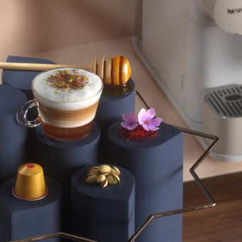Nespresso Ramadan. A 3D, Animation, and 3D Animation project by JVG - 05.11.2020