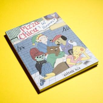 Novela Gráfica Pizzachica y Las Lloronas. Un progetto di Illustrazione, Fumetto, Disegno , e Script di Bàrbara Alca - 22.05.2020
