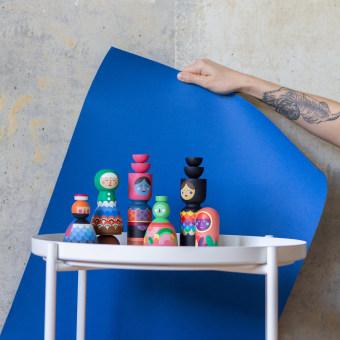 In technicolor . Um projeto de Artesanato, Pintura, Criatividade, Desenho artístico e Pintura Acrílica de Andi Rosés - 25.05.2020