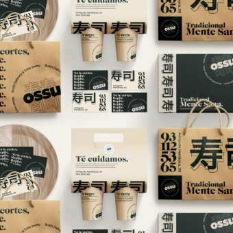 Ossu - Concept Delivery. Um projeto de UI / UX, Br, ing e Identidade e Design de apps  de Alex Ferran Perez Vallès - 26.05.2020
