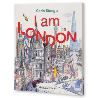 I am London Book. A Illustration, Architecture, Creativit, Drawing, Digital illustration, and Bookbinding project by Carlo Stanga - 02.16.2020