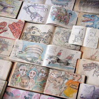 Extracts from my most recents sketchbooks.. Un projet de Illustration, Esquisse  , et Carnet de croquis de Lapin - 27.05.2020