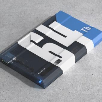 Really Fast SCI-FI SSD Concept. Um projeto de 3D, Direção de arte, Design industrial, Design de produtos, Modelagem 3D, Concept Art e 3D Design de Àlex Casabò - 01.06.2020
