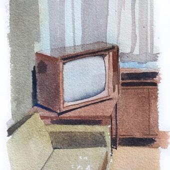 Everyday life watercolors. Un projet de Esquisse  , et Aquarelle de João Paulo de Carvalho - 09.06.2020
