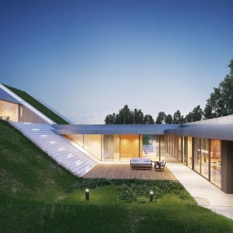 Mi Proyecto del curso: Diseño arquitectónico de exteriores con V-Ray. Un progetto di 3D , e ArchVIZ di Visualfabrik - 07.09.2020