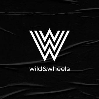 Wild & Wheels. Un progetto di Br, ing e identità di marca, Costume Design, Graphic Design, Design di loghi , e Fashion Design di Revel Studio - 09.09.2020