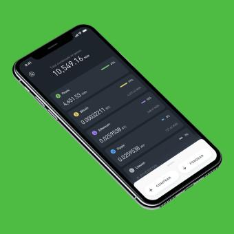 Bitso: Compra y vende criptomonedas de manera fácil.. Um projeto de UI / UX e Design de apps  de Nodos . - 01.12.2018
