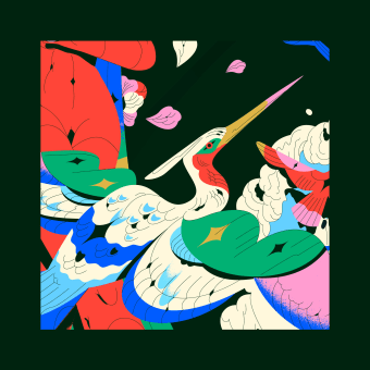 La unión de la laguna y el mar abierto. Un progetto di Design, Illustrazione, Direzione artistica , e Belle arti di Profe - 22.09.2020