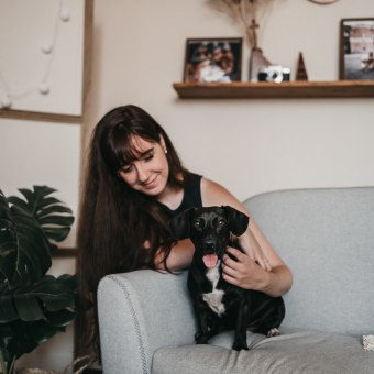 Mi Proyecto del curso: Fotografía lifestyle de perros. Un progetto di Fotografia, Fotografia con smartphone, Fotografia di ritratto, Fotografia digitale, Fotografia per Instagram, Fotografia lifest , e le di MESTIZAA - 06.10.2020