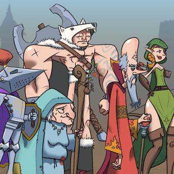 Mi Proyecto del curso: Fábrica de personajes ilustrados. Un projet de Character Design, B, e dessinée, Animation 2D, Jeux video, Art conceptuel , et Conception de jeux vidéo de Daniel Davoise - 07.10.2020