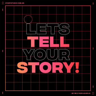 Let's tell your STORY! - Story Studio. A Design, Motion Graphics, Animation, Multimedia, and 2D Animation project by Facundo López - 10.18.2020