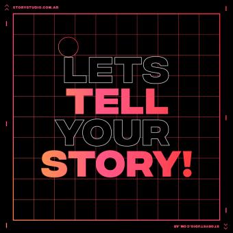 Let's tell your STORY! - Story Studio. Un progetto di Design, Motion Graphics, Animazione, Multimedia , e Animazione 2D di Facundo López - 18.10.2020