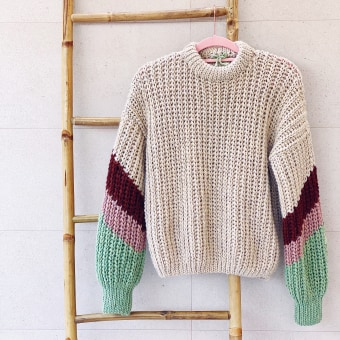 Mi Proyecto del curso: Crochet: crea prendas con una sola aguja. A Crafts, Creativit, Fashion design, Sewing, Textile D, and eing project by Alicia Recio Rodríguez - 10.20.2020