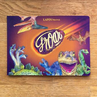 groar art book. Un projet de Illustration, Esquisse , Aquarelle, Carnet de croquis et Illustration éditoriale de Lapin - 20.11.2020