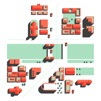 Un País de Lletres.. A Graphic Design, Infographics, and Vector Illustration project by Paadín - 12.21.2020