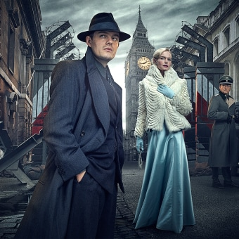 SS - GB By BBC Worldwide. Un projet de Publicité, Post-production, Télévision, Retouche photographique, Photographie publicitaire, Composition photographique , et Photomontage de Diego Angarita - 10.07.2015