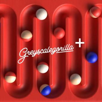 Greyscalegorilla Plus. A 3-D, Br, ing und Identität, Vektorillustration, 3-D-Modellierung und 3-D-Design project by Dan Zucco - 23.09.2020