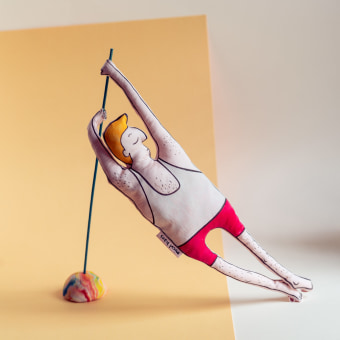 Movement. A Character Design, Crafts, Product Design, To, Design, Product photograph, Sewing, 3D Character Design, Art To, and s project by Maria Mandea - 12.05.2020