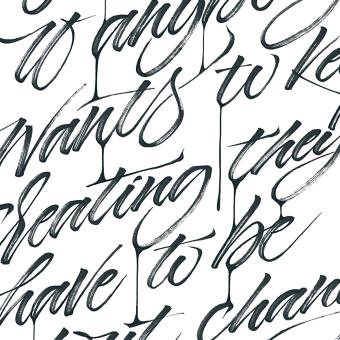 OFFF Book 2019 . Un projet de Calligraphie, Lettering, Calligraphie avec brushpen, H , et lettering de Iván Caíña - 25.04.2019