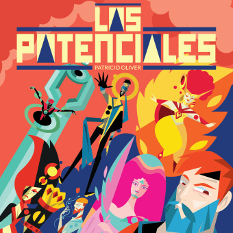 Los Potenciales . A Character Design, Comic, Vector Illustration, and Digital illustration project by Patricio Oliver - 01.25.2021