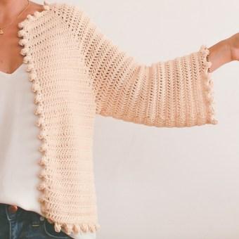 Mi Proyecto del curso:  Top-down: prendas a crochet de una sola pieza. Un progetto di Uncinetto di Andrea - 25.02.2021