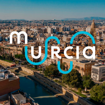 Murcia, para ti. Un progetto di Direzione artistica, Br, ing e identità di marca, Graphic Design, Design di poster  , e Design di loghi di destinoestudio - 24.03.2021