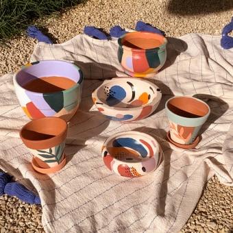Ceramicas rústicas . Un progetto di Ceramica di Barbara d'Avila - 25.03.2021