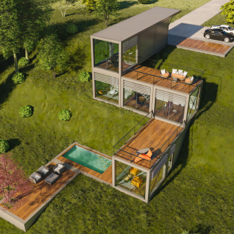 S House . Un projet de Architecture, Architecture d'intérieur , et Modélisation 3D de Ehab Alhariri - 29.03.2021