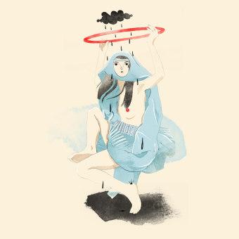 Místico y científico. A Illustration, Bleistiftzeichnung, Zeichnung, Digitale Illustration, Digitales Design, Digitale Zeichnung und Digitale Malerei project by Dayana Montesano - 08.02.2021