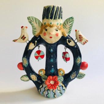 Mi Proyecto del curso: Técnicas de ilustración y modelado en cerámica. Un progetto di Ceramica di constanzab - 09.04.2021