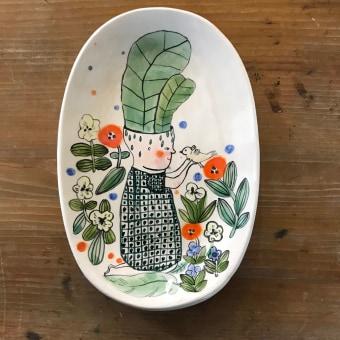 Platos ilustrados. Un progetto di Ceramica di constanzab - 12.04.2021