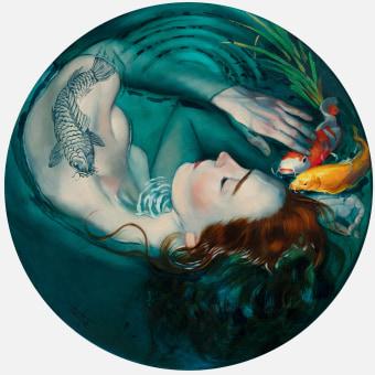 Mujeres Imaginadas de Fernando Vicente. Un progetto di Illustrazione, Belle arti , e Pittura di Fernando Vicente - 10.04.2021