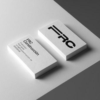 FRC Construcción. Un projet de Direction artistique, Design graphique, Conception d'affiche , et Création de logo de Revel Studio - 14.04.2021