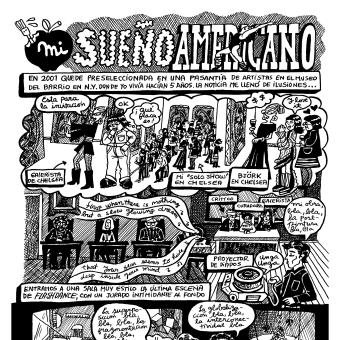 Mi Proyecto del curso:  Creación de novelas gráficas autobiográficas. Un proyecto de Cómic de Marcela Trujillo Espinoza - 15.04.2021