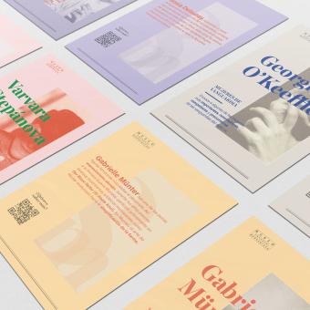 Mujeres vanguardistas - 8M - Colección. Un progetto di Direzione artistica, Graphic Design , e Creatività di Sofía Gregorio - 16.04.2021