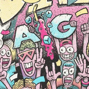 Mi Proyecto del curso: Ilustración lowbrow: viaja al pasado con estilo. A Illustration, Werbung, Br, ing und Identität, Design von Figuren, Verlagsdesign, Events, Bildende Künste, Grafikdesign, Siebdruck, Comic, Urban Art, Social Media, Lettering, Skizzenentwurf, Kreativität, Bleistiftzeichnung, Zeichnung, Plakatdesign, Concept Art, Textile Illustration, Grafischer Humor, Kalligrafie mit Brush Pen, Illustration mit Tinte und Editorial Illustration project by Marco Boetti - 20.04.2021