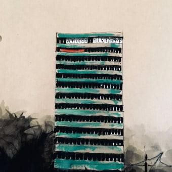 Madrid Buildings. Un projet de Illustration, Aquarelle, Peinture acr, lique, Illustration architecturale et Illustration d'encre de Ana Agarp - 22.04.2021