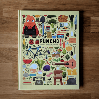 Puncho. Un progetto di Illustrazione editoriale di Elena Serrato - 23.04.2021