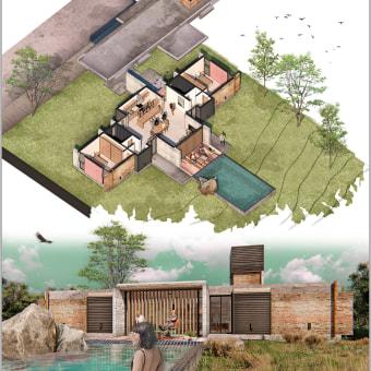 Mi Proyecto del curso: Ilustración digital de proyectos arquitectónicos. Un proyecto de Arquitectura de Alejandro Ávila Labrador - 30.04.2021