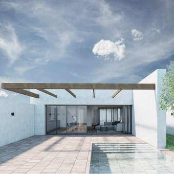 Mi Proyecto del curso: Visualización arquitectónica con V-Ray Next para SketchUp. Un proyecto de 3D y Arquitectura de Adriana Zamora - 21.04.2021