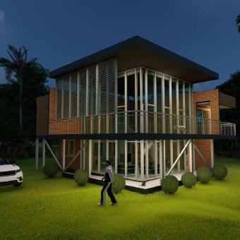 Mi Proyecto del curso: Diseño y modelado arquitectónico 3D con Revit/ Trabajo de render con ''LUMION''/Erick Martinez. Un proyecto de 3D, Arquitectura, Arquitectura interior y Arquitectura digital de ebmartinez - 01.05.2021