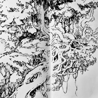 30 Day Challenge . Un progetto di Illustrazione con inchiostro di Sorie Kim - 29.04.2021
