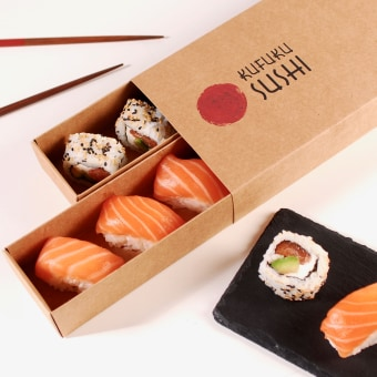 Packaging para Sushi. Un progetto di Design, Packaging , e Creatività di SelfPackaging - 05.05.2021