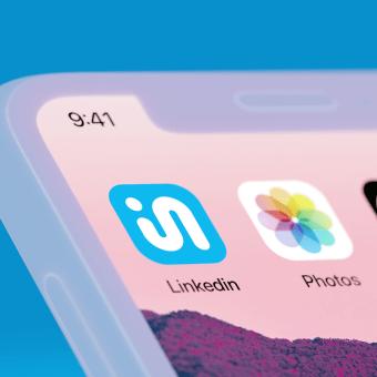 Linkedin App. A UI / UX, 3-D, Br, ing und Identität, Interaktives Design und Logodesign project by Ramon Bosch - 06.05.2021
