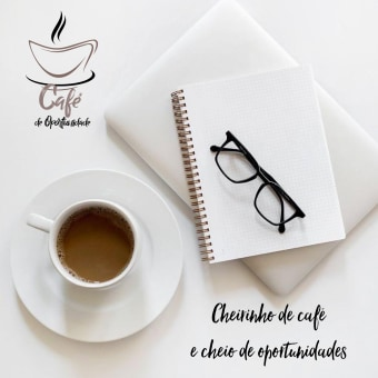 Café de Oportunidade . Un proyecto de Br, ing e Identidad, Consultoría creativa, Educación, Marketing, Gestión del Portafolio, Marketing Digital, Decoración de interiores, Comunicación y Marketing para Instagram de Karen Redman - 09.05.2021
